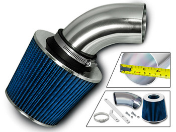 Cold Air Intake For 1997-2001 Cadillac Catera 3.0L V6 Engine (DS-BSI-CD02-BL)