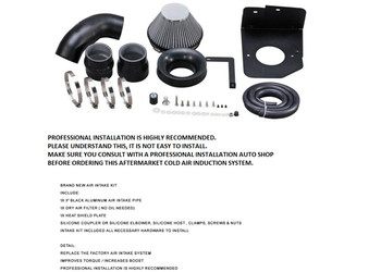 Cold Air Intake for 2013-2017 Ford Focus ST 2.0L Turbocharged Turbo Engine