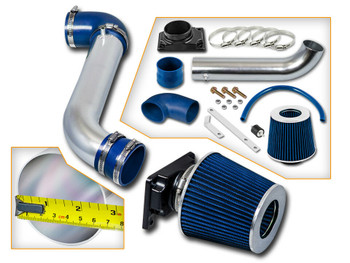 Cold Air Intake for Dodge Stratus SE SXT R/T (2001-2006) 2-Door Coupe 2.4L (4G64) SOHC / 3.0L V6 (6G72) SOHC Engine