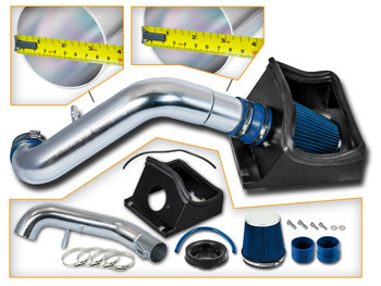 Blue Cold Air Intake for 2011-2014 Ford F150 5.0L V8 Engine
