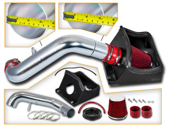 Red Cold Air Intake for 2011-2014 Ford F150 5.0L V8 Engine
