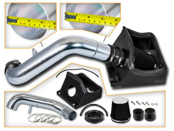 Black Cold Air Intake for 2011-2014 Ford F150 5.0L V8 Engine