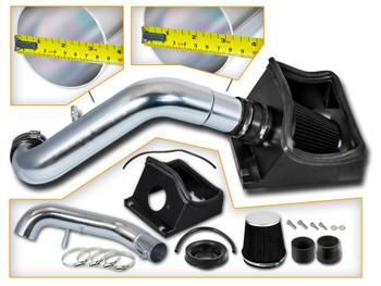 Black Cold Air Intake for 2011-2014 Ford F150 5.0L V8 Engine