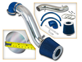 Blue Cold Air Intake for 1993-1998 Jeep Cherokee 4.0L Inline-6 Engine