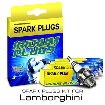 Iridium Performance Spark Plug Set for Lamborghini