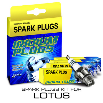 Iridium Performance Spark Plug Set for Lotus