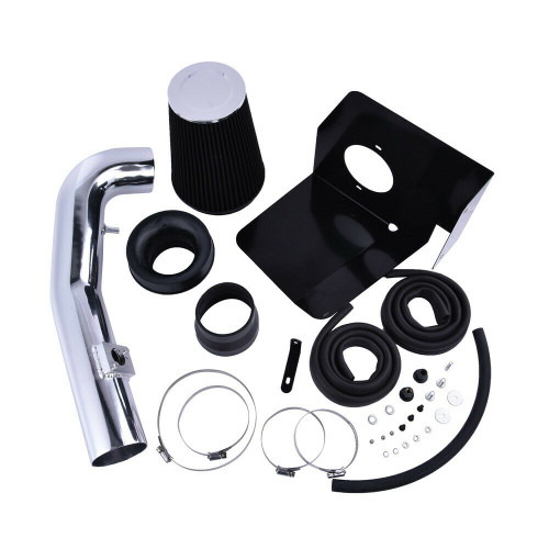 Cold Air Intake Kit for GMC Sierra 1500 (2009-2013) with 4.8L / 5.3L / 6.0L / 6.2L  V8 Engine Chrome