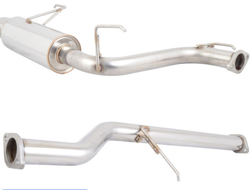 Exhaust Cat-Back for Honda Accord (1998-2002) 4 Cylinder 2.3L Engine