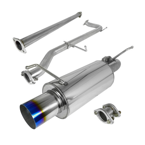 Exhaust Cat-Back for Honda Accord (1998-2002) 4 Cylinder 2.3L Engine  2D/4D