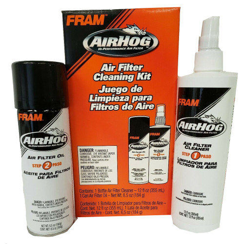 Air Filter Cleaning and Re-Oil Kit 2 Part