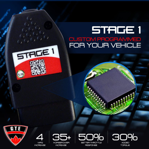 Stage 1 Performance Chip Module OBD2 for Mazda