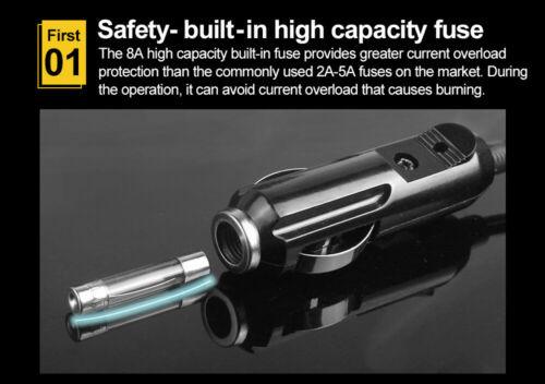 OBD2 Memory Saver ECU Emergency Power Supply Cigarette Lighter Cable