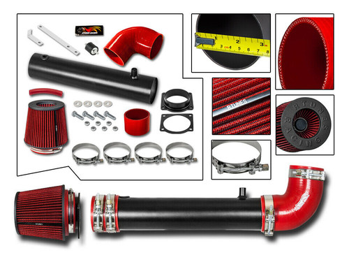 BLACK PERFORMANCE AIR INTAKE KIT FIT 1995-2000 FORD EXPLORER//RANGER//MAZDA B4000 4.0L OHV V6 ENGINE