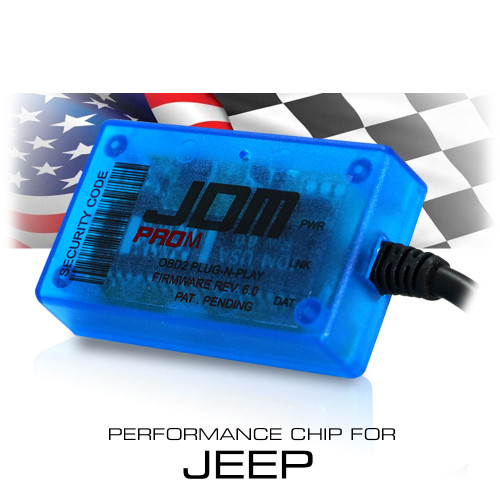 Stage 3 Performance Chip OBDII Module for Jeep