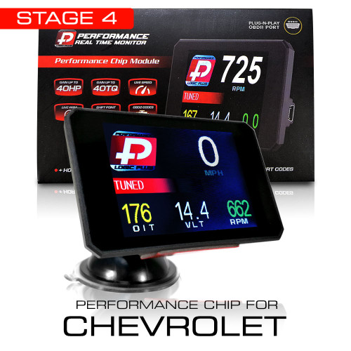 Stage 4 Performance Chip Module OBD2 +LCD Monitor for Chevrolet 2008+