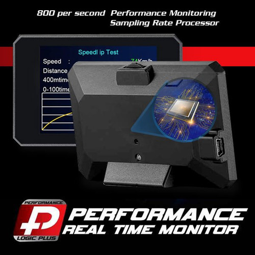 Stage 4 Performance Chip Module OBD2 +LCD Monitor for Ford 2005+