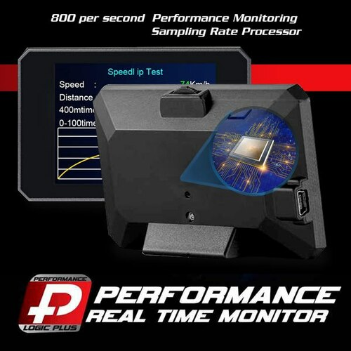 Stage 4 Performance Chip Module OBD2 +LCD Monitor for Nissan 2008+