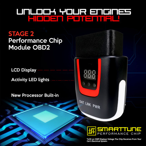 Stage 2 Performance Chip Module OBD2 For Pontiac