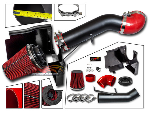 Cold Air Intake Kit for Chevrolet Avalanche (2002-2006) with 5.3L /  6.0L  V8 Engine