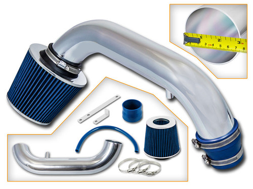 Blue Cold Air Intake Kit for Dodge Neon (1995-1999) with 2.0L 4 Cylinders Engine