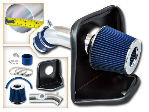 Blue Cold Air Intake Kit for Mazda 6 (2014-2017) with 2.5L 4 Cylinders Engine