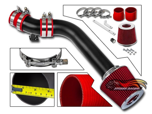 Cold Air Intake Kit for Honda Civic CX/DX/LX (1996-2000) with 1.6L 4-Cylinder Engine