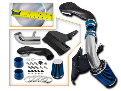 Blue Cold Air Intake Kit for GMC Jimmy  (1996-2004) with 4.3L V6 Engine