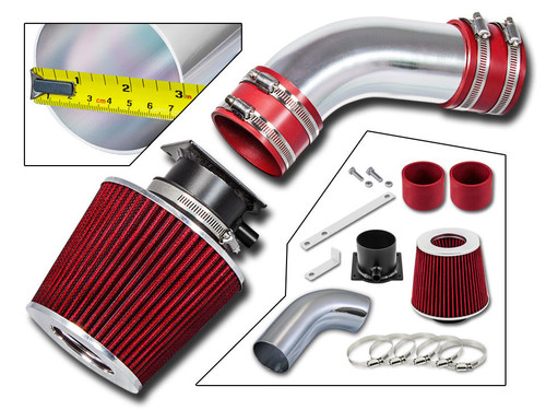 Red Ram Air Intake Kit for Volkswagen Passat  (1998-2005) with 2.8L V6 Engine