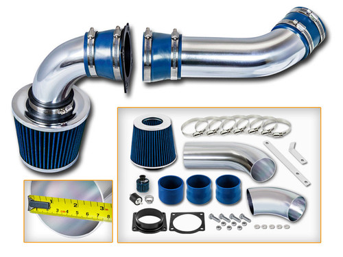 Cold Air Intake Kit for Ford Explorer Sport Trac (2001-2003) with 4.0L V6 Engine Blue