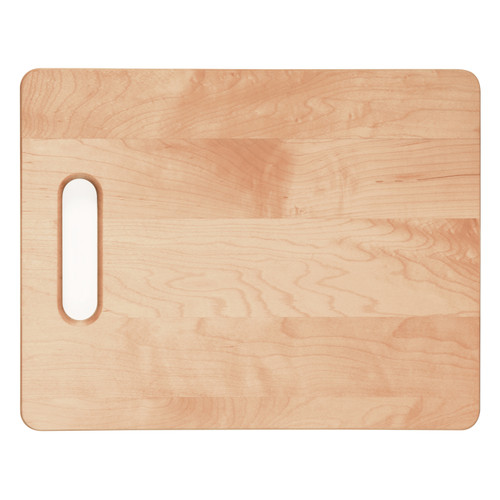 Personalized Custom Add Your Name/Text - Laser Engraved Genuine Maple Wood Cutting Board (Horizontal)