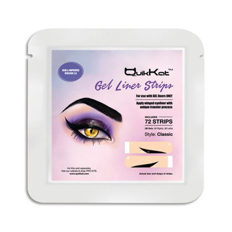 Gel Liner Strips: 72 Count Classic Style- Ink Sold Separately