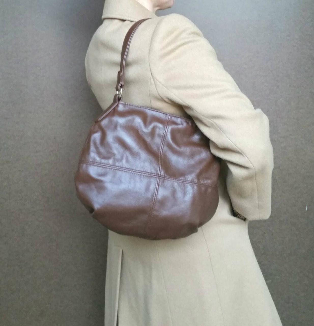 550320c73057 Brown leather bag