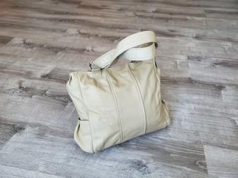 Neutral Leather Totes, Women Shoulder Handbag, Katty - Gifts for Her