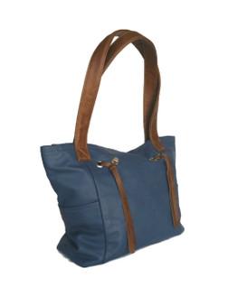 Two Tones Handbag, Handmade Rustic Bags, Casual Purse, Kenia