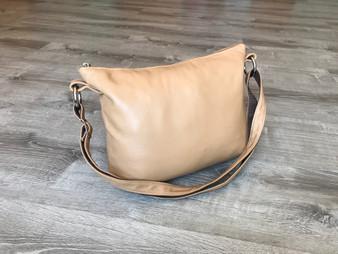 Camel Crossbody Bag, Shoulder Handbag, Women Purse, Julia