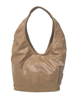 Distressed Leather Hobo Bag, Large Everyday Hobo Purse, Alexis