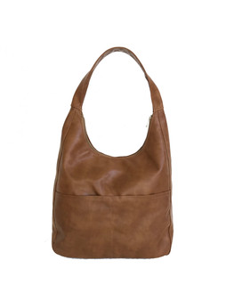 Women Brown Leather Bag, Fashion Shoulder Handbag, Coco