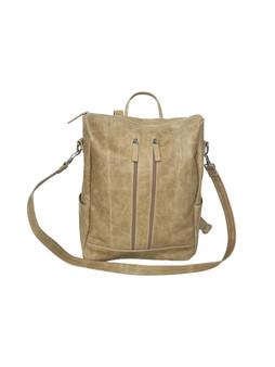 Distressed Leather Backpack Bag, Woman Shoulder Handbag, Ceida by Fgalazebags