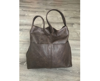 Brown Leather Bag, Everyday Women Fashion and Classic Purses and Bags, Kim