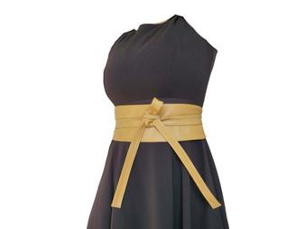 Leather Obi Belt, Rustic Wide Belts, Fashion Sash Belts, Women  Accessories, Sam