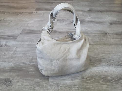 Leather Bag, Everyday Purse in Sand, Fashion Shoulder Handbag, Bony