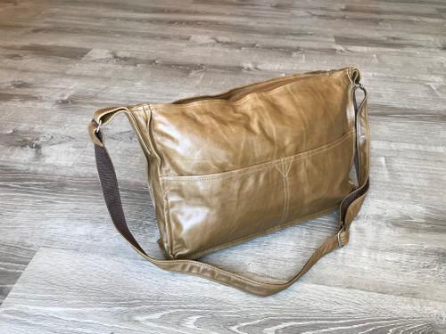 Distressed Leather Cross body Purse Bag, Carmen