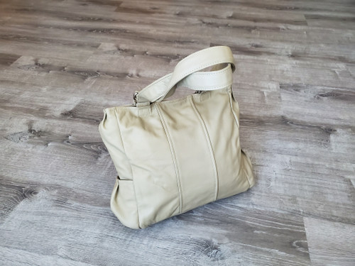 Neutral Leather Totes, Women Shoulder Handbag, Katty - Gifts for Her