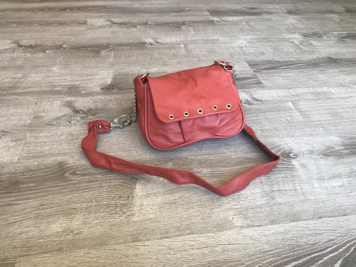 Small Cross body Leather Bag, Women Shoulder Purse, Sury