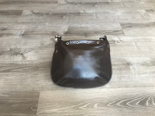 Hobo Leather Purse, Brown Shoulder Bag, Becky