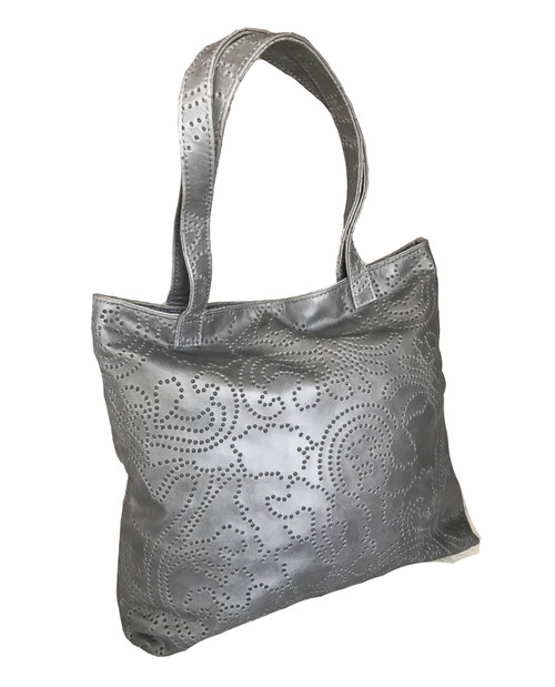 embroider leather bag