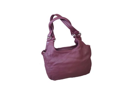 Women Leather Bag, Everyday Small Purse, Fashion Handbag, Bony