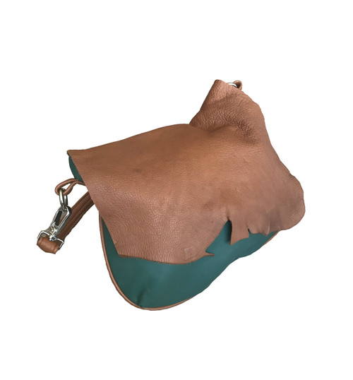retro leather bag