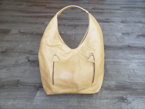 Camel Leather Bag, Hobo Purse, Casual Hobos, Fashion Bags, Alexa