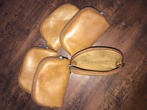 Leather Coin Bag, Small Leather Purse, Mini Pouch, Mini Pouches, Headphones Case, Martha